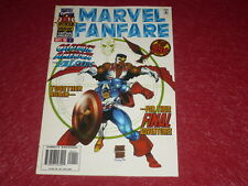 [BD COMICS MARVEL USA] MARVEL FANFARE (2nd serie)  # 1 - 1996 Captain America