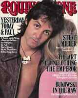 Paul and Linda McCartney 1977 Rolling Stones Magazine Cover Poster