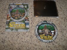 The Settlers Fourth Edition (PC, 2001) Near Mint Game with manual