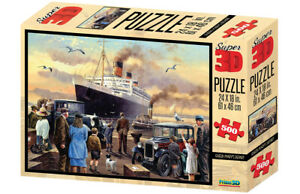 The Queen Mary 500 Piece 3D-Look jigsaw puzzle (kc)