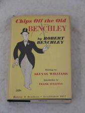 Robert Benchley CHIPS OFF THE OLD BENCHLEY Gluyas Williams Harper & Brothers