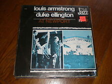 Louis Armstrong/Duke Ellington LP At Newport