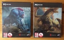 THE WITCHER 1 AND 2 STEELBOOK G2 PC DVD POLISH EXCLUSIVE STEEL CASE + GOG CODES
