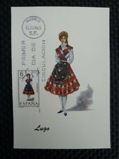 SPAIN MK 1969 COSTUMES SPANIEN TRACHTEN MAXIMUMKARTE MAXIMUM CARD MC CM a8671