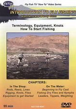 Introduction to Fly Fishing (DVD, 2004) NEW