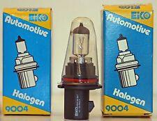 Pair (2) New Halogen 9004 HB1-65W-45W-12V Automotive Lamp Light Bulbs