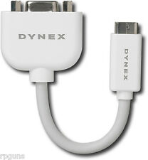 NEW DYNEX Mini DVI to VGA Adapter (DX-AP110) APPLE Notebook IE829