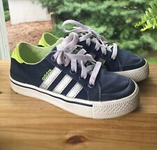 Adidas Boys 13 EU 31 Blue Sneakers Casual Shoes