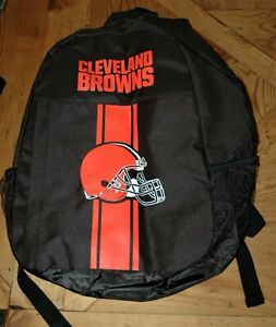 Cleveland Browns backpack NEW with tags Adult one-size NFL Christmas