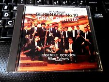 Mozart Serenade Gran Partita CD JAPANESE IMPORT Ensemble Octogon, Milan Turkovic
