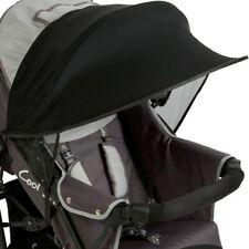 Simpeak Sonnenschutz SONNENSEGEL für Kinderwagen Buggy UV Schutz Rollo Funktion