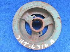1950's FORD  215ci  223ci  6 CYLINDER  CRANKSHAFT DAMPENER PULLEY  217