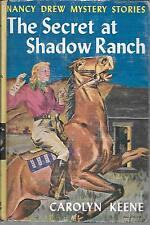 Nancy Drew. The Secret at Shadow Ranch. Nice Condition. 1931 Hardcover.