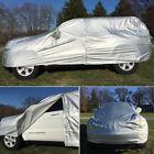 Aluminum Full SUV Car Cover Auti-Dust Rain Resistant Snow for Toyota Highlander
