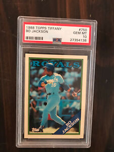 Bo Jackson 1988 Topps Tiffany PSA 10