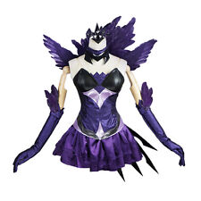 League of Legends Lux Elementalist Dark Lux Dress Halloween Cosplay Costume