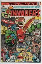 Marvel Comics The Invaders #5 Mar. 1976 The Red Skull back from the Dead!