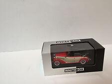 1/43 1939 Mercedes Benz 230 w153 cabriolet open /White box