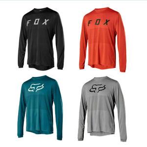 NEW Men's FOX Cycling Jersey Ranger LS FA19 Long Sleeve MTB Racing Tops T-shirts