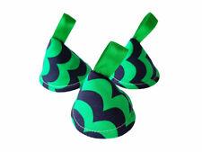 Pee Pee Teepee x3 // Wee Stop Cones Teepees // Baby Shower Gift // Green Blue