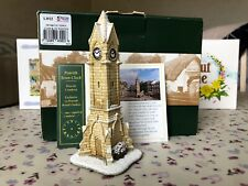 Lilliput Lane (L3022) PENRITH TOWN CLOCK IN WINTER - With Box & Deeds Brand New