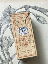 Ancienne boite d'épingles Françaises - Vers 1900 - Couture Mercerie Décoration