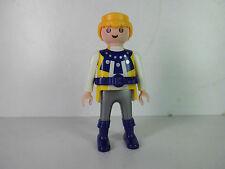 p158C-Playmobil-Grundfigur - Ritter - Knight, gelb / blau