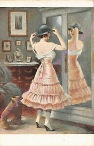 Postcard Art A.Guillaume L'Fitting