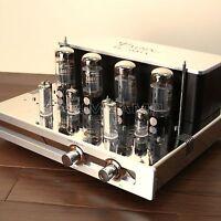 YAQIN MC-5881A/6L6A Hi-End Vacuum Valve Tube headphone Integrated Amplifier 240V