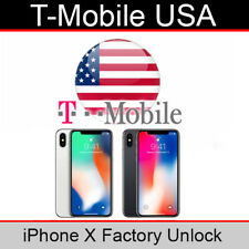 T Mobile USA iPhone X Factory Unlock Service