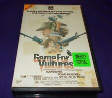 GAME FOR VULTURES VHS PAL