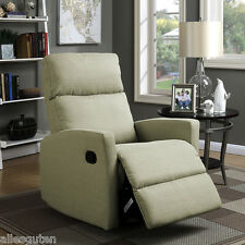 Massage Recliner Sofa Chair Ergonomic Lounge Seat Home Office Decor Beige