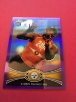 Chris Rainey Steelers 2012 Topps Chrome Purple Refractor Rookie #53  6/499