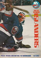 New York Islanders 1977/1978 Official Vintage NHL Hockey Yearbook Program Rare