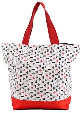 Big SAILOR Anchor Anker Bag SHOPPER Tasche Rot Rockabilly