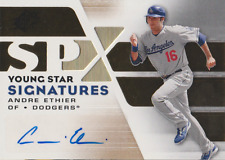 Andre Ethier 2008 UD SPx Young Star Signatures autograph auto card YSS-AE