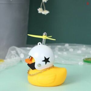 1pc Car Goods Gift Wind-breaking Wave-breaking Duck For Car Ornaments Auto Inter