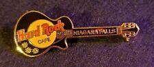 Hard Rock Cafe Pin Niagara Falls NY - Black Les Paul  - (#6708) -1996
