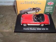 ATLAS CLASSIC SPORTS CARS 1/43 SCALE AUSTIN HEALEY 3000 MARK3 (CHINA) WITH BOX