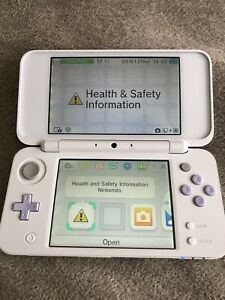 """""""NEW"""" NINTENDO 2DS XL CONSOLE FAULTY WONT READ GAMES EVERYTHING ELSE WORKS FINE"""