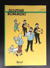 Revue Duizend Bommen N°20 2005 750 ex ETAT NEUF No Amis de Hergé Tintin Kuifje