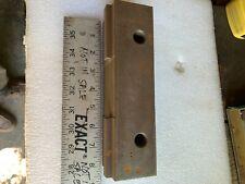 8 inch Angle Lock Type Vise Fixed Jaw, Blacksmith Anvil Hardi Riser Swage Block