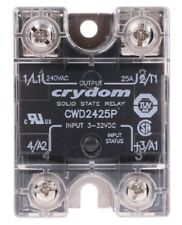 Crydom CWD2425P 25 A rms Solid State Relay, Zero Cross, Panel Mount SCR