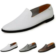 Mens Driving Moccasins Slip on Loafers Shoes Flats Pumps Soft Comfy Breathable
