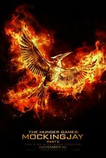 HUNGER GAMES MOCKINGJAY PT2 2015 Advance Teaser A DS 2 Sided 27X40 Movie Poster
