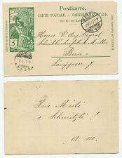 22379 - Ganzsache - Postkarte - Basel 31.12.1900 nach Bern