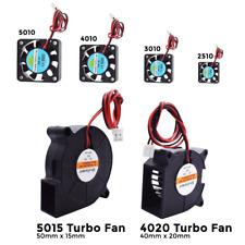 Ventilateur de refroidissement pour imprimante 3d 25mm 30mm 40mm 50mm 12V / 24V