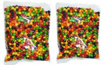 Skittles x 2kg Fruitty Candy Halloween Candy Buffet Party Favors Bulk Lollies