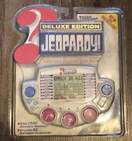 Deluxe Edition Jeopardy Hand Held Game 1999 Tiger Electronics Sealed Battery NIB