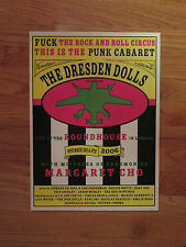 THE DRESDEN DOLLS Live at ROUNDHOUSE in LONDON Promotional Concert Lobby Poster